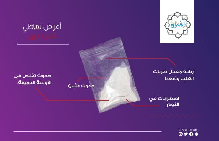 أعراض تعاطي الكوكايين