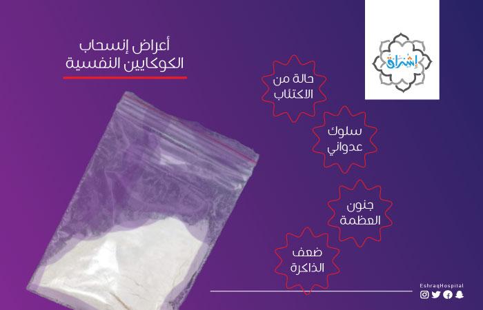 أعراض إنسحاب الكوكايين