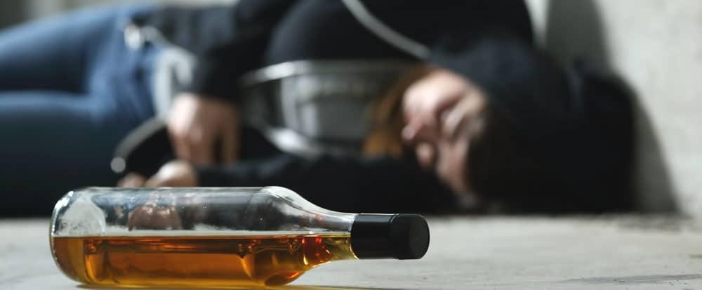 أضرار إدمان الكحول