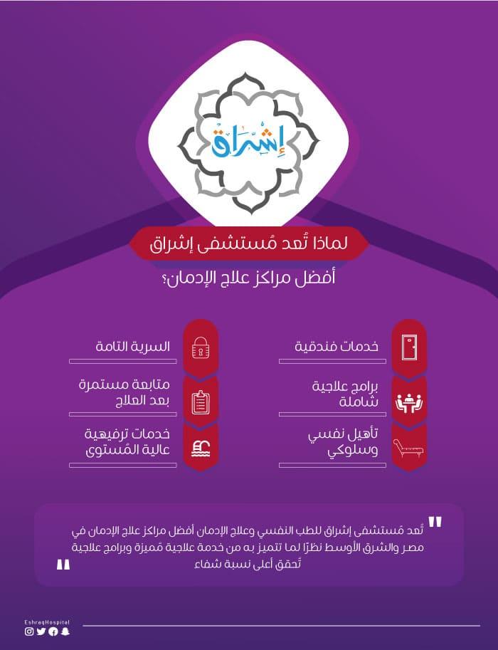 أفضل مستشفى علاج إدمان فى مصر