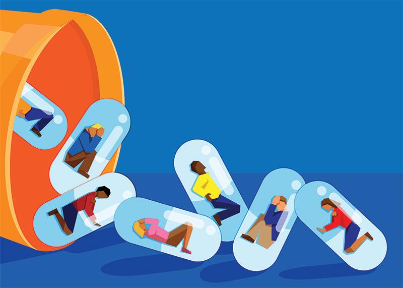 علاج ادمان المخدرات فى سرية